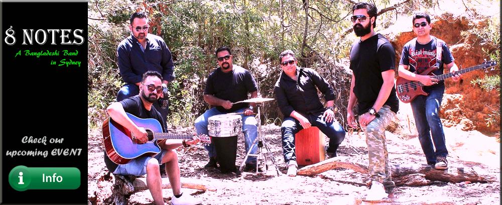 8 Notes Sydney bangla band