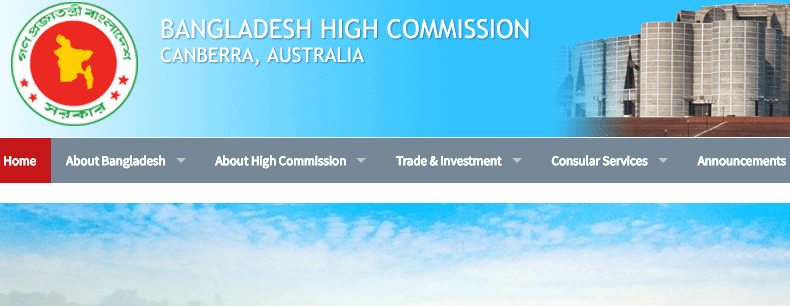 BD High Commission – Consular camp in AU, NZ & Fiji