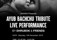 Tribute to Ayub Bachchu – BAAWA || Perth