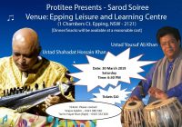 Protitee presents Sarod Soiree || Sydney
