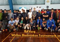 BAYorg winter badminton tournament || Melbourne